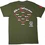 野球場の図案のTシャツ