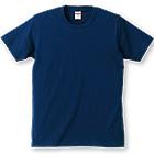 5.0ozコーマ糸使用のしなやか綿100%Tシャツ