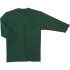 吸汗速乾エアレット7分袖Tシャツ 胸ポケット付き