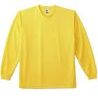 ドライタッチ長袖Tシャツ(異形断面素材使用)