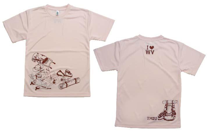 ワンゲル部のTシャツ