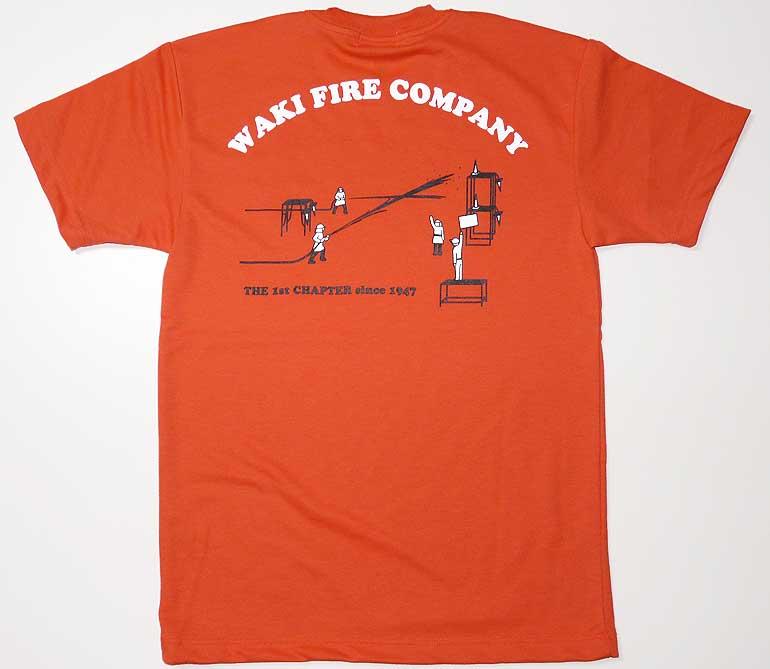 消防Tシャツ