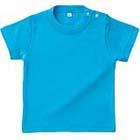 0、80、90の3サイズ展開のベビーTシャツ