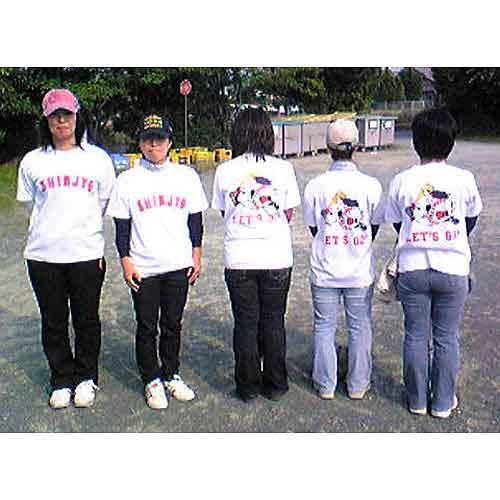 少年野球応援オリジナルTシャツ