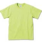 5.6oz天竺Tシャツ。