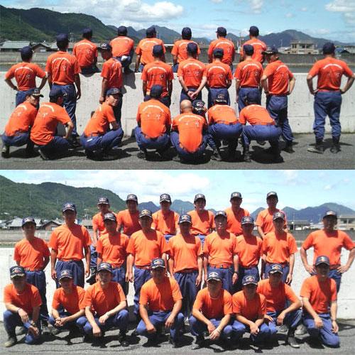 和木町消防団オリジナルTシャツ