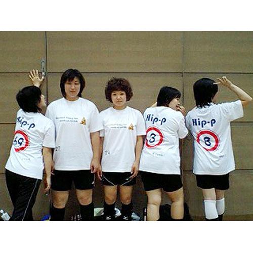 昇華プリントバレーボールTシャツ
