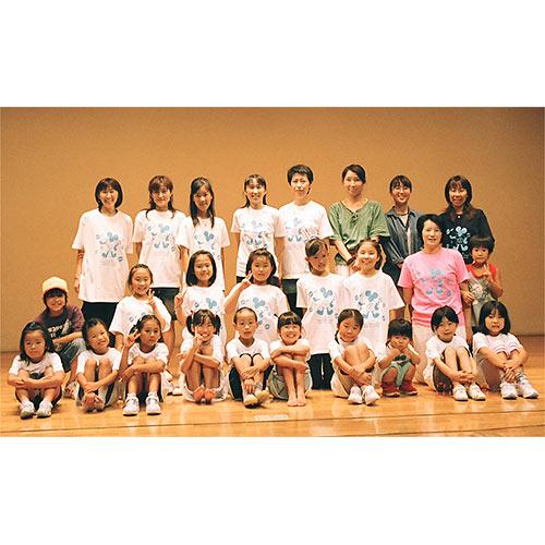 ダンスチームオリジナルTシャツ