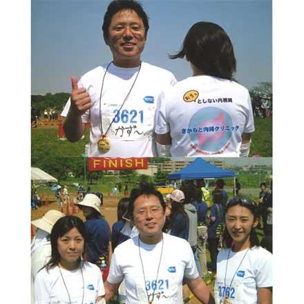 マラソンオリジナルTシャツ