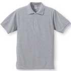 しっかり厚手の純綿 ポロシャツ
