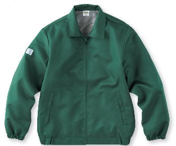 グリーンのエコグランドコート