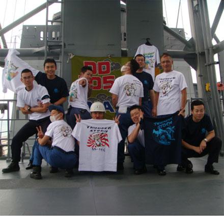 呉市護衛艦隊の皆様のオリジナルTシャツ