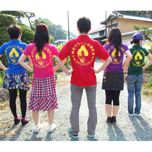 東京マラソン参加記念のオリジナルTシャツ