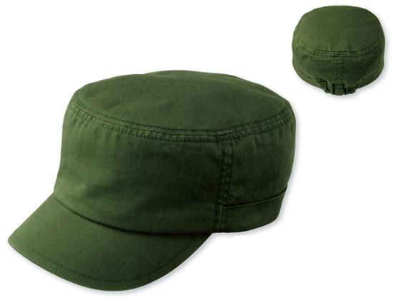 カストロ帽カーキ