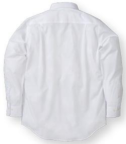 白シャツのバックスタイル