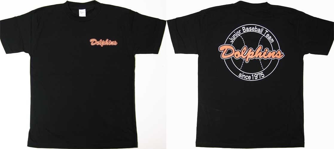 少年野球部のオリジナルTシャツ