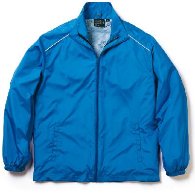 ロイヤルブルーのハイブリッドジャケット