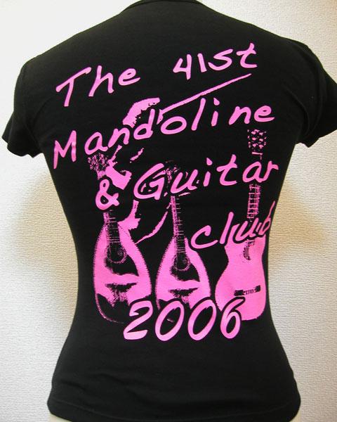 ピンクの2階調化オリジナルTシャツ