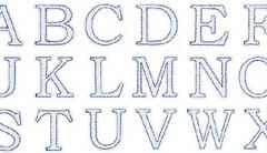 アルファベットワッペン