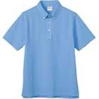 鹿の子ボタンダウンシャツ半袖