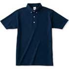 鹿の子編みボタンダウンシャツ