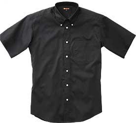 黒の半袖ストレッチ