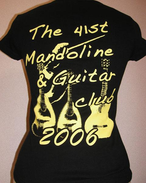 黄色の2階調化オリジナルTシャツ