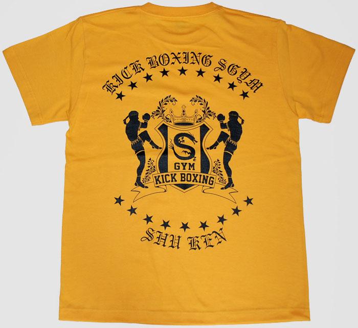 ムエタイ オリジナルTシャツ ゴールド
