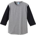 7分袖切り替えベースボールTシャツ